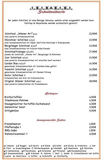 Schnitzelkarte